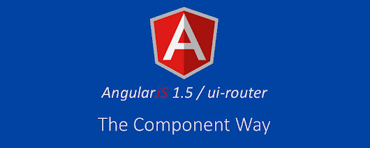 AngularJS Component as Route