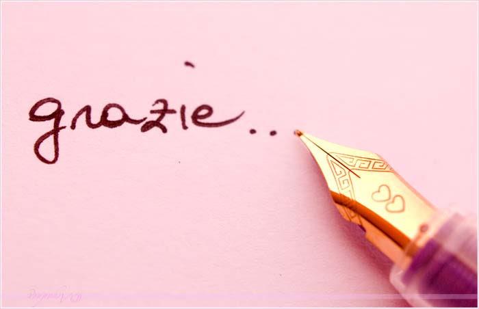 maramarta:  :)  Ognuno con il suo motivo, un grazie non sta mai male. Rende gentile l'aria…♡♥