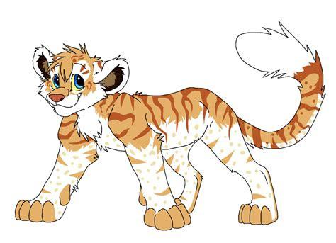 liger cub shani  firewolf anime  deviantart