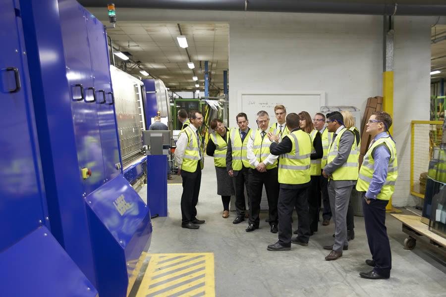 Lhc Team Visits Anglian Manufacturing Operations Anglian Building Productsanglian Building Products
