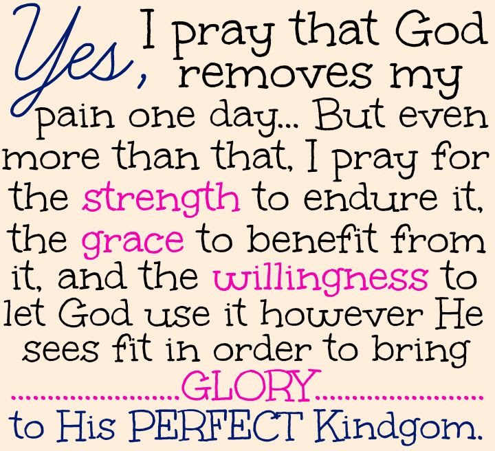 Fibromyalgia Quotes And Prayers