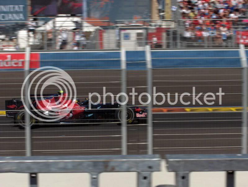 Sebastian Bourdais en el GP de Europa de F1 2008