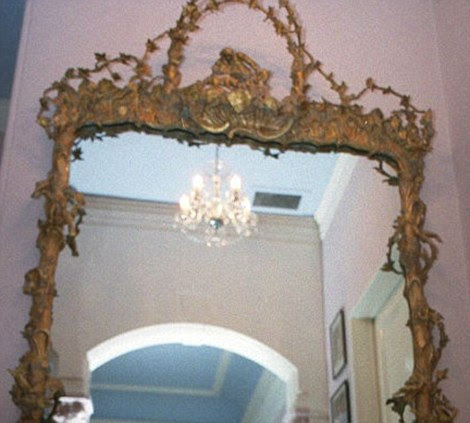 The Mirror inside Hetton Lawn, Cudnall Street, Charlton Kings.