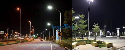 LED Street Light and Streetlight Vision