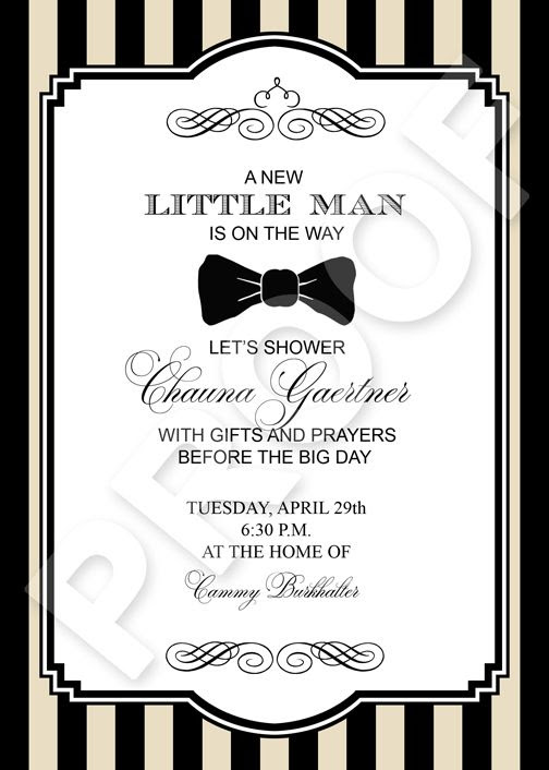 paper perfection little man bow tie invitation and party printables. Black Bedroom Furniture Sets. Home Design Ideas
