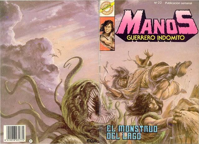 Manos Guerrero Indomito, Cover #22