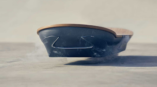 LEXUS Hoverboard - Back to the Future