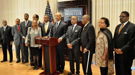 African American Pastors 4 MD Marriage Equality at the National Press Club