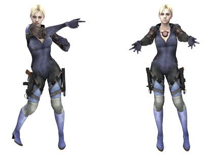 MMD Jill Valentine Battlesuit