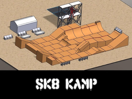 SK8 KAMP returns to Burning Man 2014