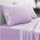 Sweet Home Collection Full 4-Pc Sheet Set - Lavender