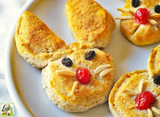 Easter Bunny Biscuits make a great Easter breakfast