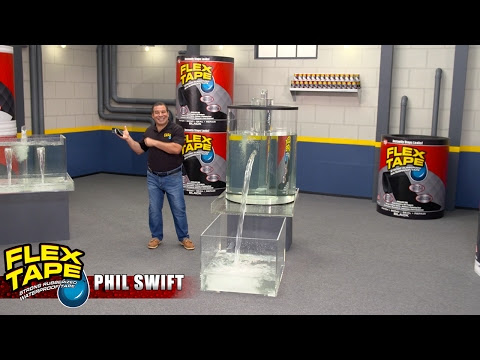 Strong, Rubberized Waterproof Tape, Flex Tape is Just so Versatile!