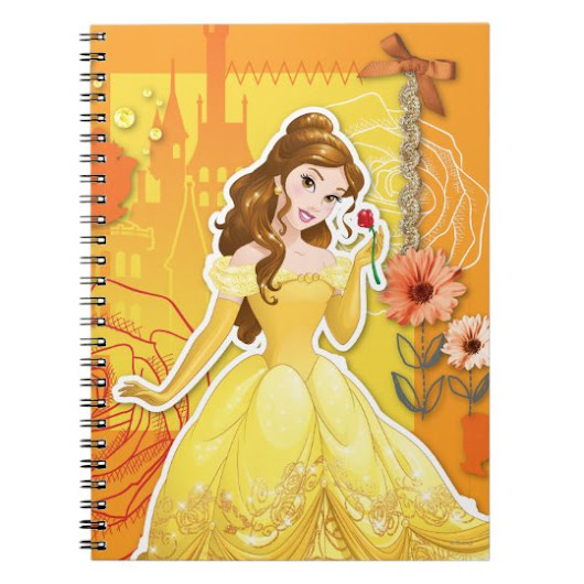 Belle - Inspirational Spiral Notebook