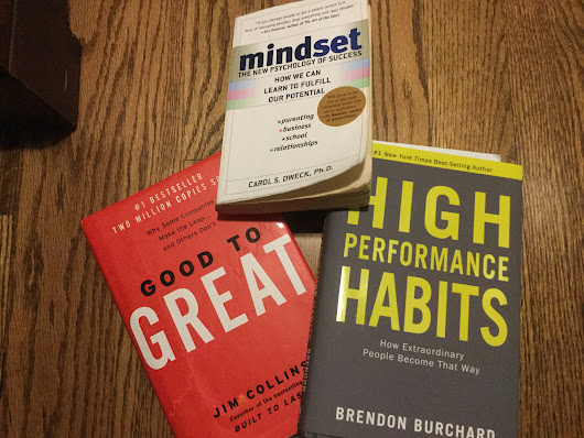Terry's Top Three Business & Mindset Books -