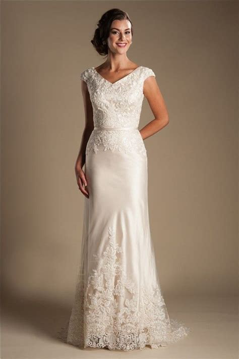 1000  images about Modest wedding dress on Pinterest
