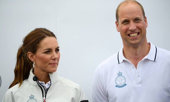 Kate Middleton and Prince William show support for Gareth Thomas after he reveals he has HIV
