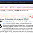 Free Download FullCHOLENK: Cara Mudah Membuat Breadcrumbs Blog