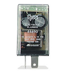 Grote 44690 Flasher, 16-Lamp Electronic Flasher, 2 Terminal