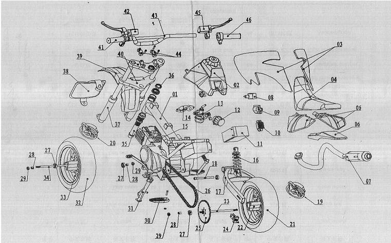 29 Dirt Bike Engine Diagram Worksheet Cloud