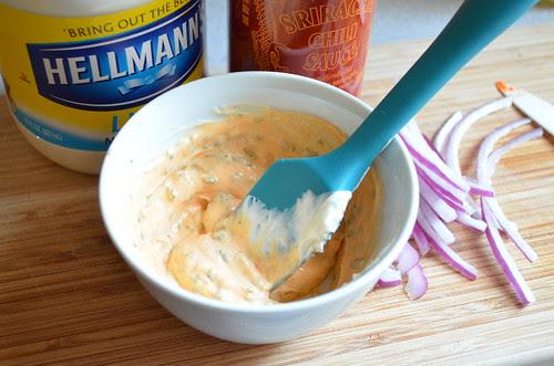 Spicy Mayo w/ Cilantro