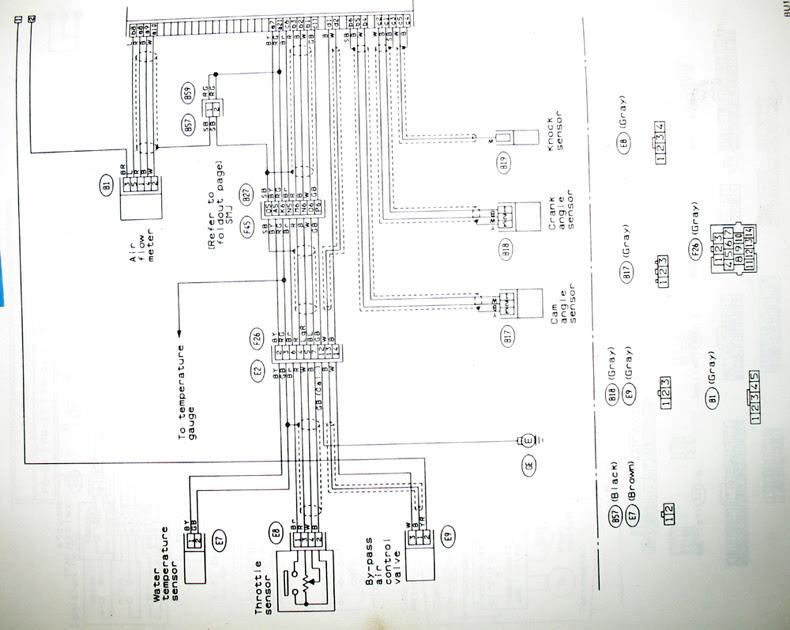 Subaru 1990 Legacy Wiring Diagram