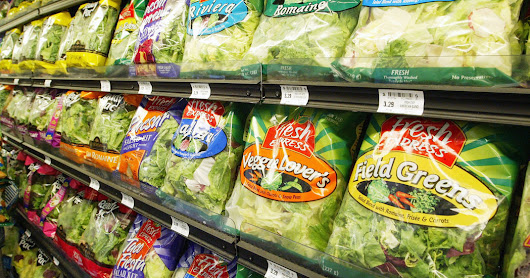 Do Prepackaged Salad Greens Lose Their Nutrients? - The New York Times