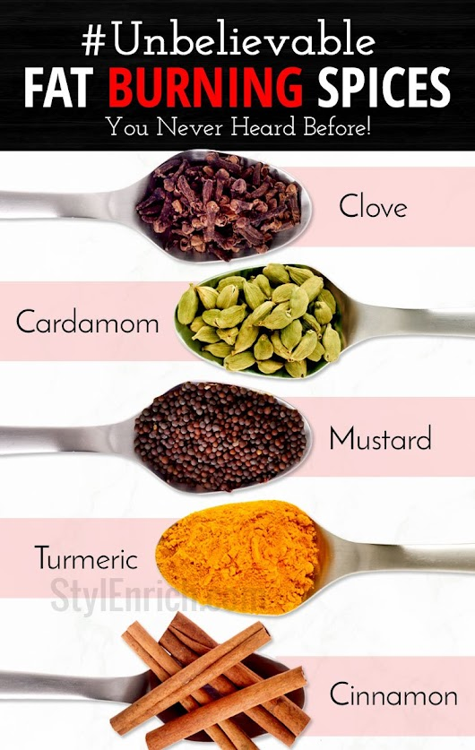Fat Burning Spices That Help You to Lose Weight in The Most Effective Way!