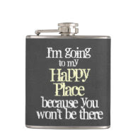 Funny Quote Flasks