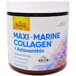Country Life Maxi-Marine Collagen Plus Astaxanthin Tropical Punch - 3.9 ounces