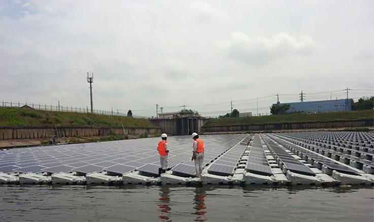 """perierga.gr - Το μεγαλύτερο πλωτό ηλιακό """"αγρόκτημα"""" στην Κίνα!"""