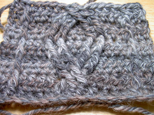 Cable swatch