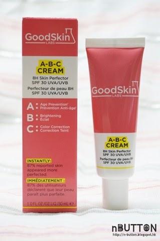 BB & CC cream 後再有 A-B-C cream by GoodSkin Labs