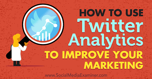 How to Use Twitter Analytics to Improve Your Marketing : Social Media Examiner
