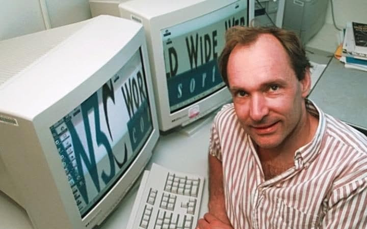Image result for Sir Tim Berners Lee
