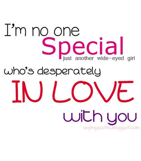 Special Girl For Me Quotes