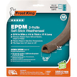Frost King V25ba 3/8x1/4x17' Brown Weatherstrip