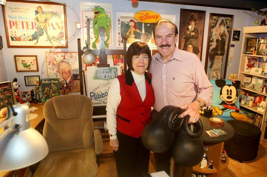 Naperville couple's book tells of 'dream' careers at Disney World