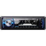Bluetooth In-Dash Stereo Radio Headunit Receiver Wireless Music Streaming Hands-Free Call Answering MP3 Playback USB & SD Card Readers 3.5mm Aux Input