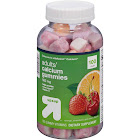Up & Up Adults' Gummy Calcium, Fruit Flavors - 100 count bottle