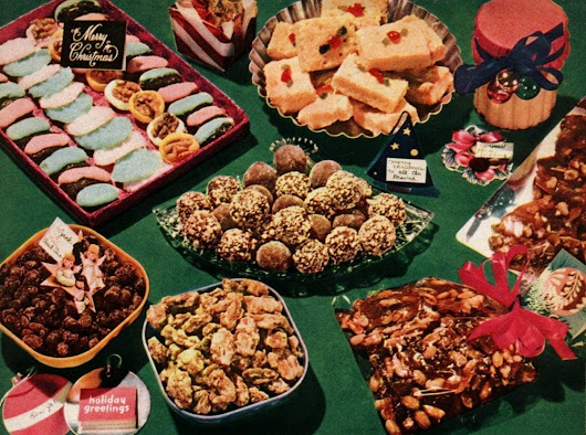 A collection of classic Christmas cookies & treats (1950s)