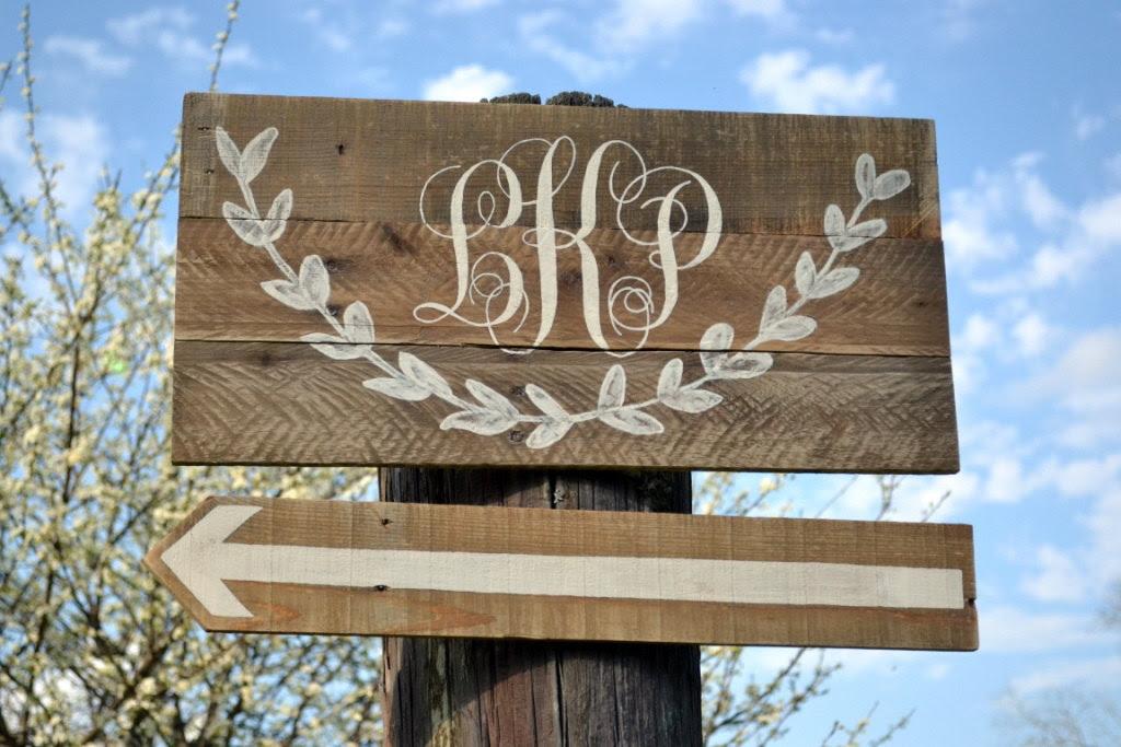 custom rustic sign   sign custom rustic wedding wedding  OneWed.com on wood monogram