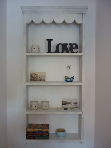 Revamped shelved