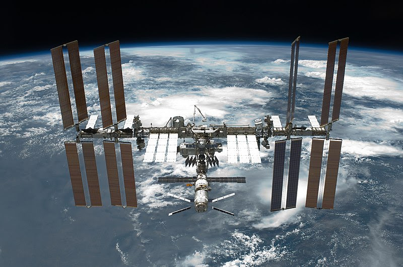 File:STS-134 International Space Station after undocking.jpg