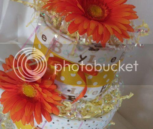 3 Tier Loaded Diaper Cake