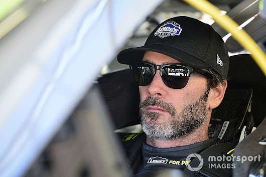 If on his way out of playoffs, Jimmie Johnson will 'go down swinging'