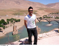 Tarkan campaigning to let the Tigris River flow