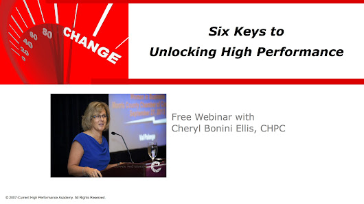 6 Keys to Unlocking High Performance