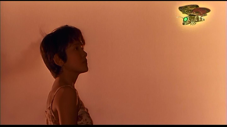 Miki Sagusa and a wee, tiny Mothra.
