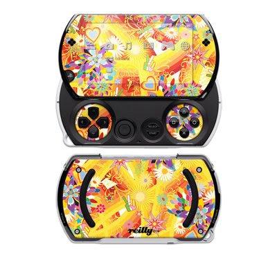 Wall Flower Design Decal Skin Sticker for the Sony PSP Go